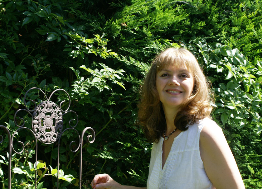 Heike im Garten