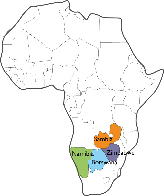 Marula-Region in Afrika