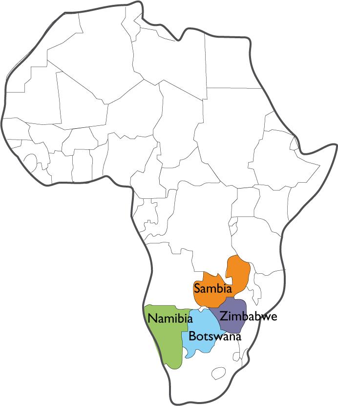 Marula-Region in Afrika