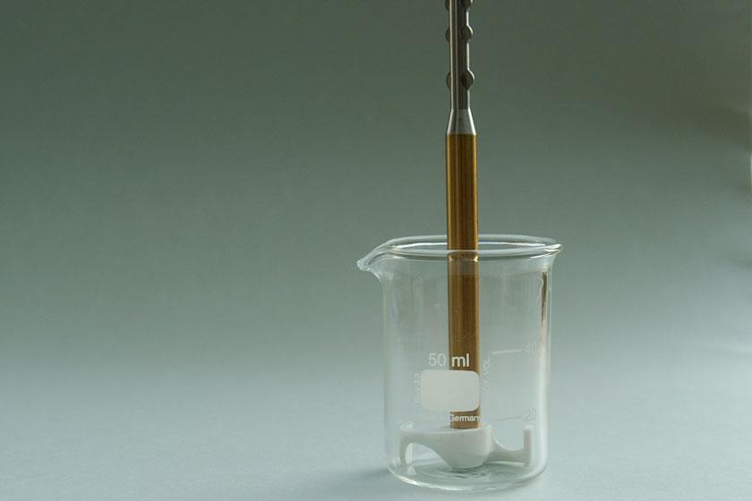 Fügelrührer im Becherglas, 30er