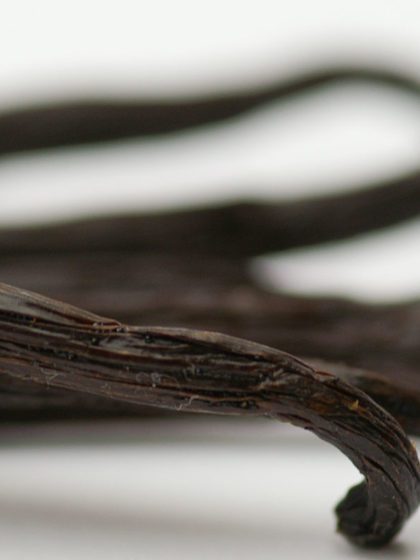 Soxhlet-Extraktion von Tahiti-Vanille
