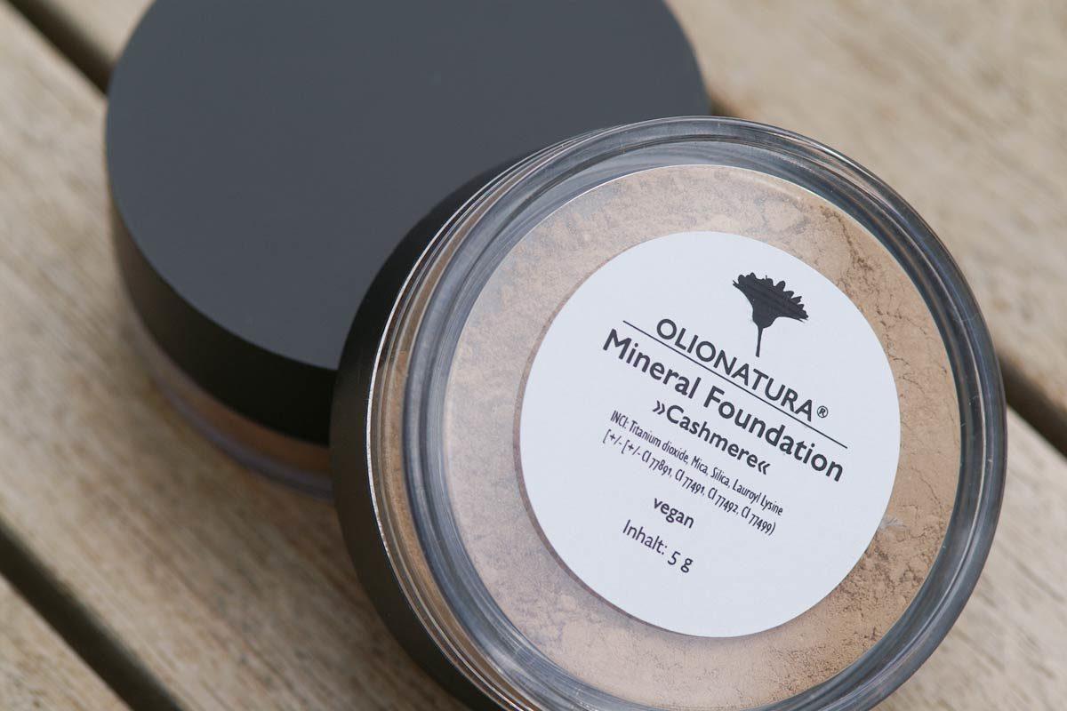 Mineral Foundation »Cashmere« mit den Pure Minerals von Olionatura.com