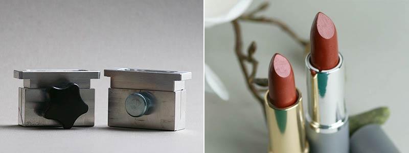 Lippenstift-Gießformen aus Aluminium von Olionatura®